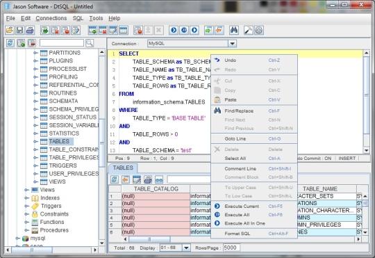 Universal Database Tools