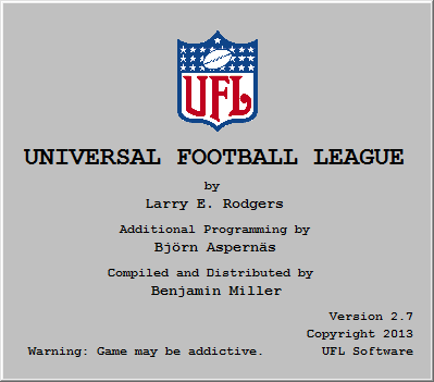 Universal Football League