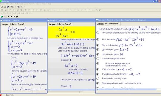 Universal Math Solver