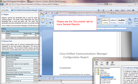 Uplinx Report Tool for Cisco Unified Communications