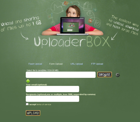 UploaderBOX
