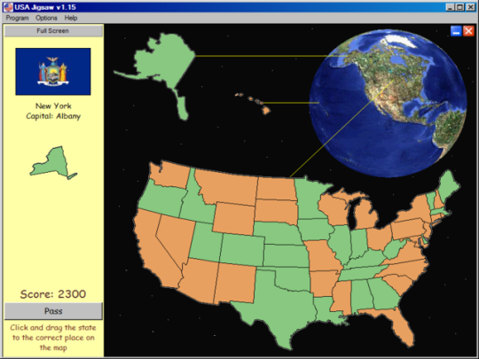 USA Jigsaw