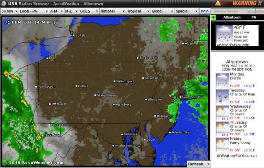 USA Radars Weather Software