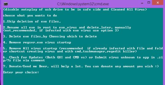 USB Virus Remover