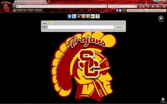 USC Trojans Theme for Firefox