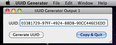 UUID Generator