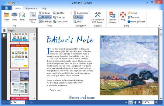 VAIS PDF Reader