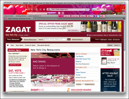 Valentine's Day Boom for Firefox