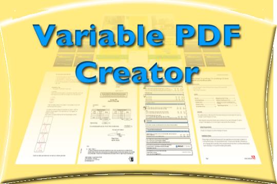 Variable PDF Creator (VPC)