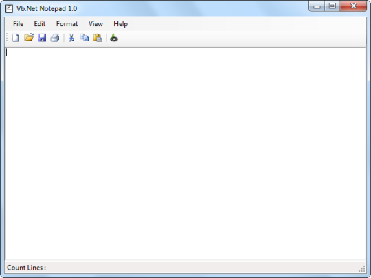 Vb.Net Notepad