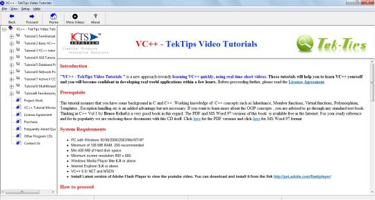 VC++ - TekTips Video Tutorials