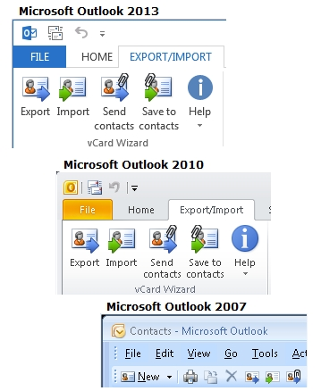 vCard Wizard for Outlook