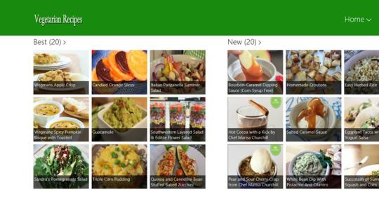 Vegetarian for Windows 8