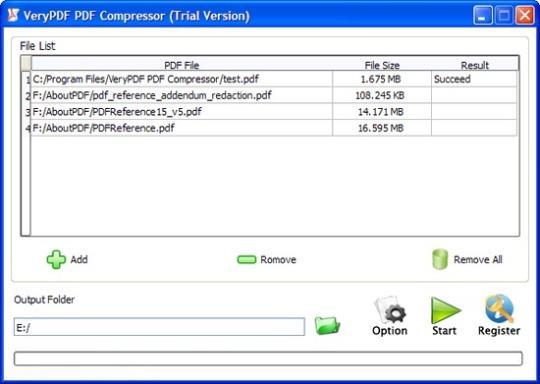 VeryPDF PDF Compressor