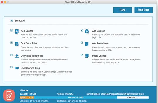 Vibosoft FoneClean for iOS (Mac)