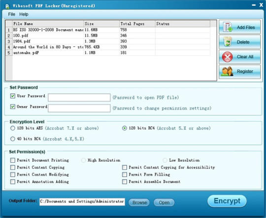 Vibosoft PDF Locker