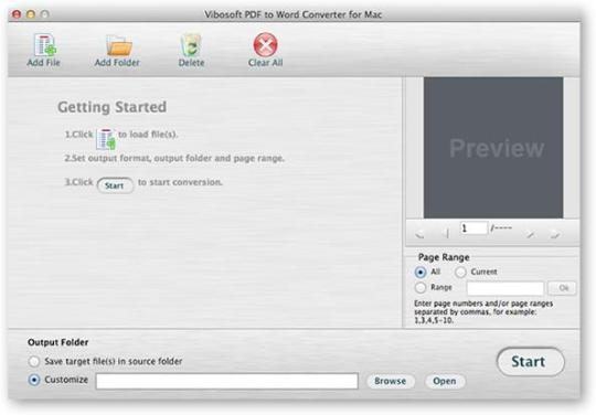 Vibosoft PDF to Word Converter for Mac