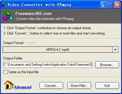 Video Converter with FFmpeg