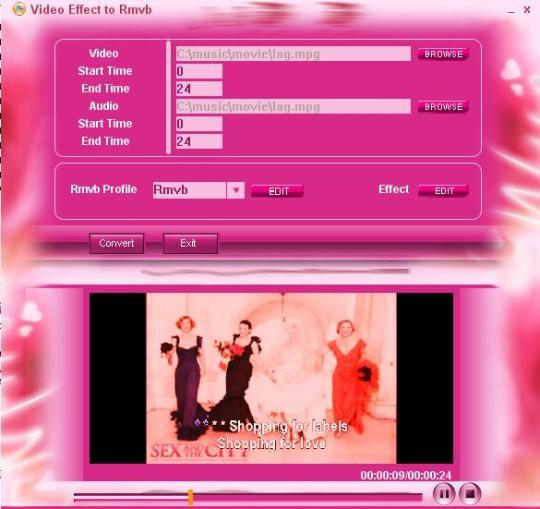 Video Effect To RMVB