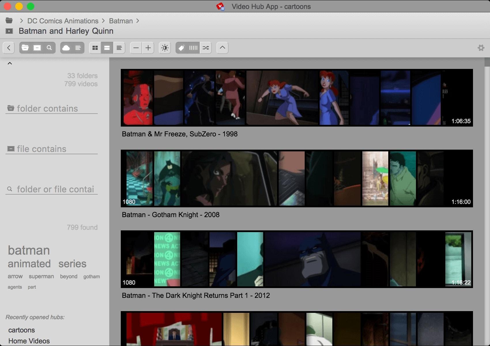 Video Hub App