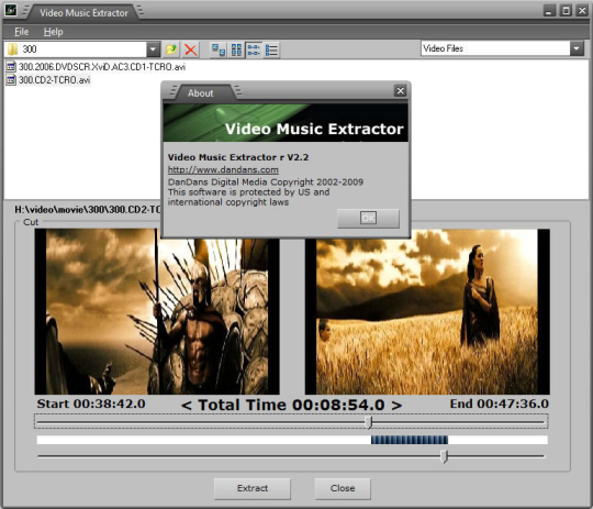 Video Music Extractor