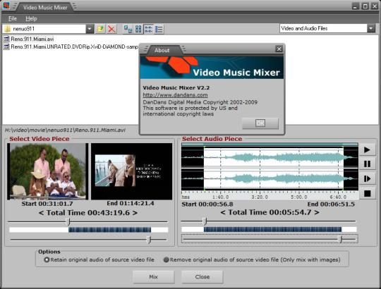 Video Music Mixer