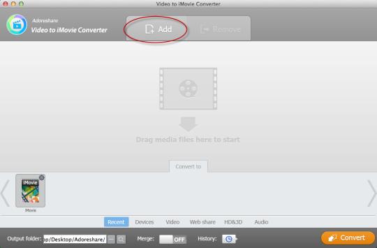 Video to iMovie Converter