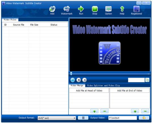 Video Watermark Subtitle Creator Standard Edition