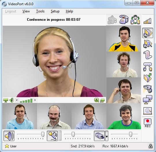 VideoPort VCS