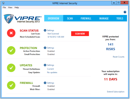 Vipre Internet Security 2014