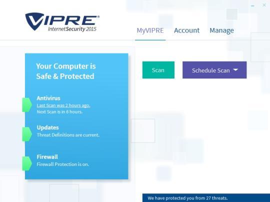 Vipre Internet Security 2015