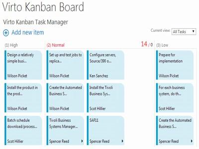 Virto SharePoint Kanban Board Web Part