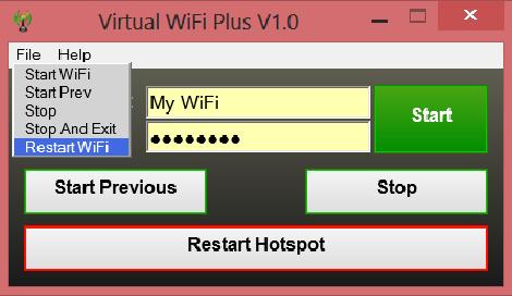 Virtual WiFi Plus