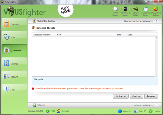 VIRUSfighter Server