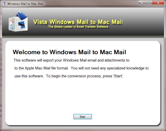 Vista Mail to Mac Mail