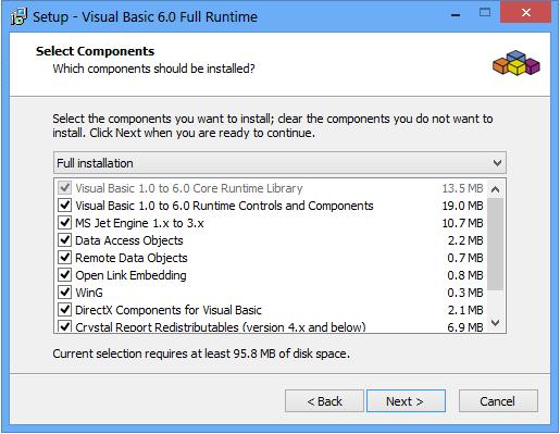 Visual Basic 6.0 Runtime Plus