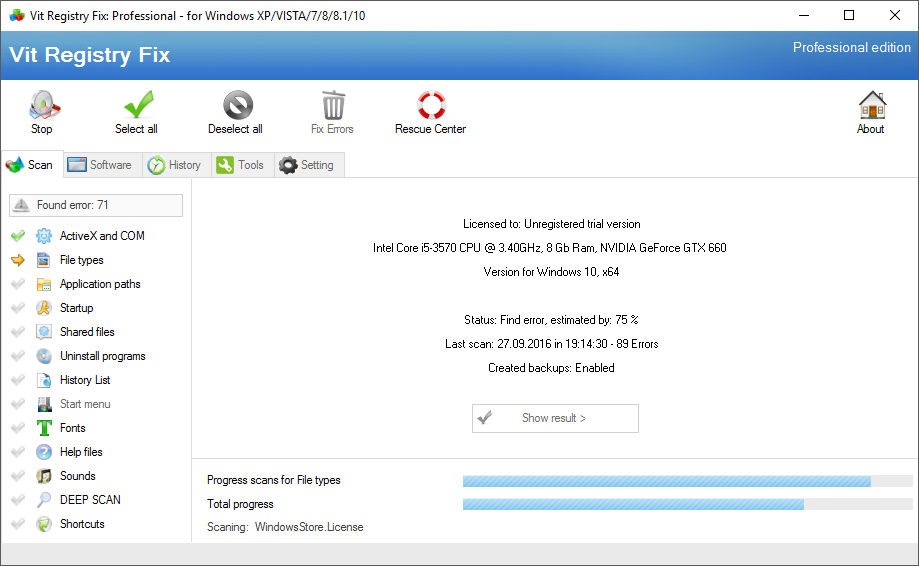 Vit Registry Fix Professional Portable
