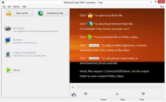 VMeisoft Flash SWF Converter