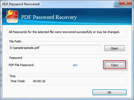 Vodusoft PDF Password Recovery