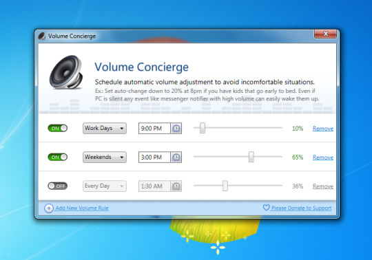Volume Concierge