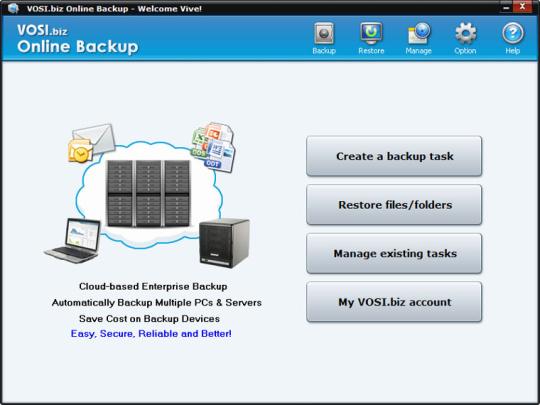 VOSI.biz Online Backup (64-bit)