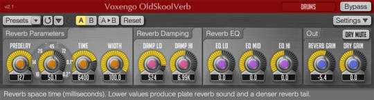 Voxengo OldSkoolVerb (64-bit)
