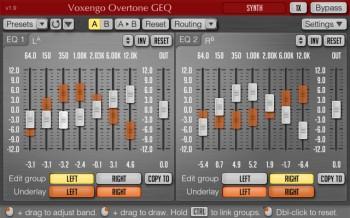 Voxengo Overtone GEQ (32 bit)