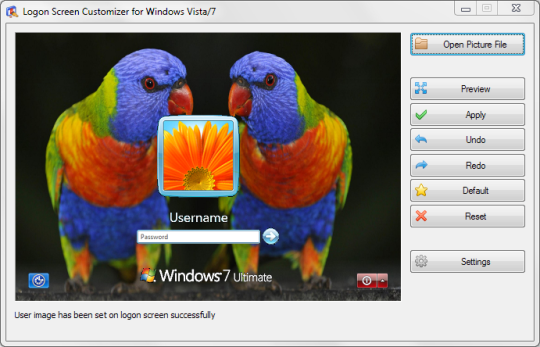 VSLogonScreenCustomizer Portable (32-bit)