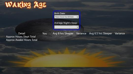 Waking Age for Windows 8