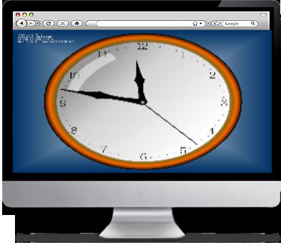 Wall Clock Screensaver