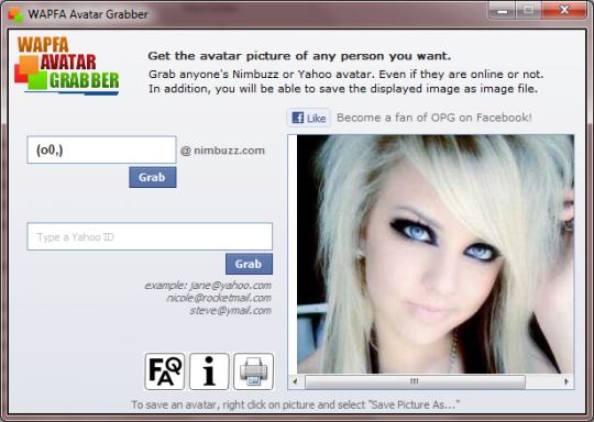 Wapfa Avatar Grabber