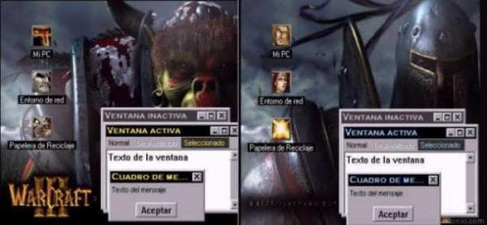 Warcraft III: Reign of Chaos Desktop Theme