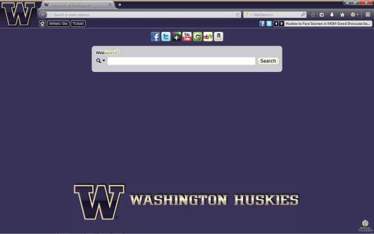 Washington Huskies Theme for Firefox