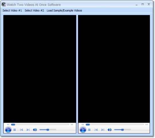 Watch Two Videos At Once Software